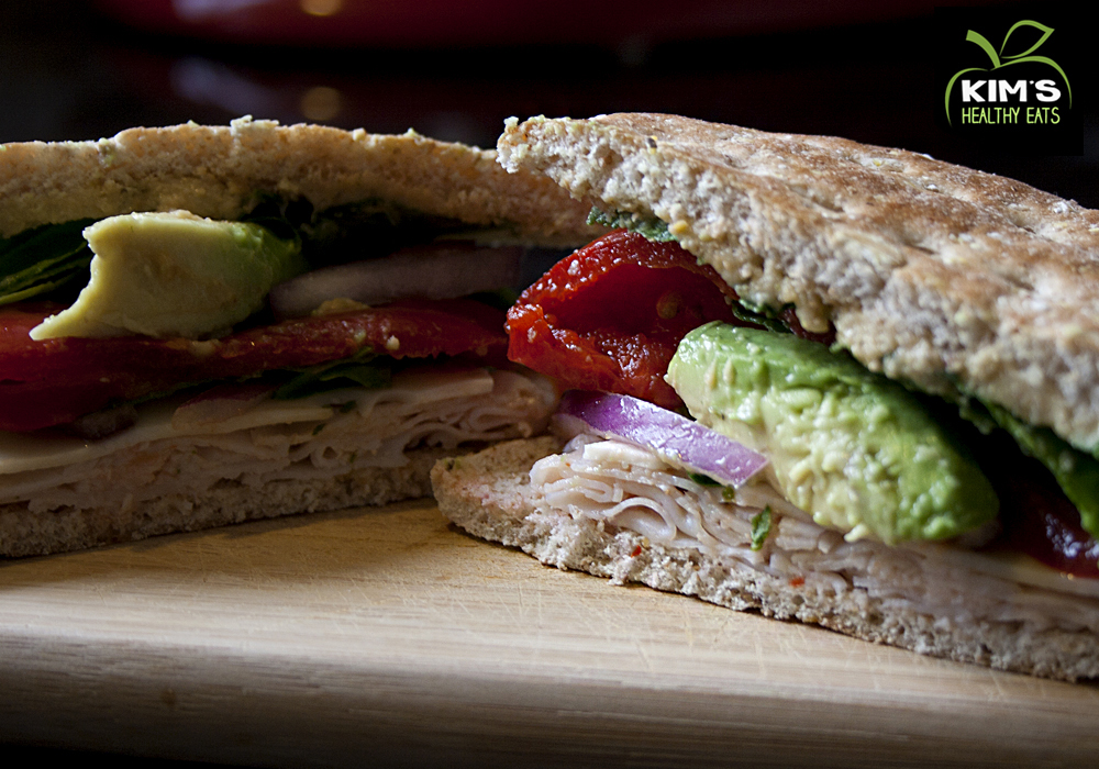 Turkey Avacado Sandwich