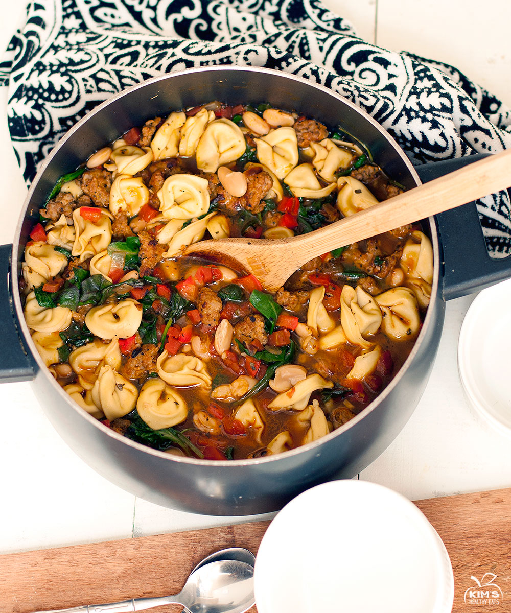 ... recipe that I posted last year. Italian Tortellini Sausage Soup