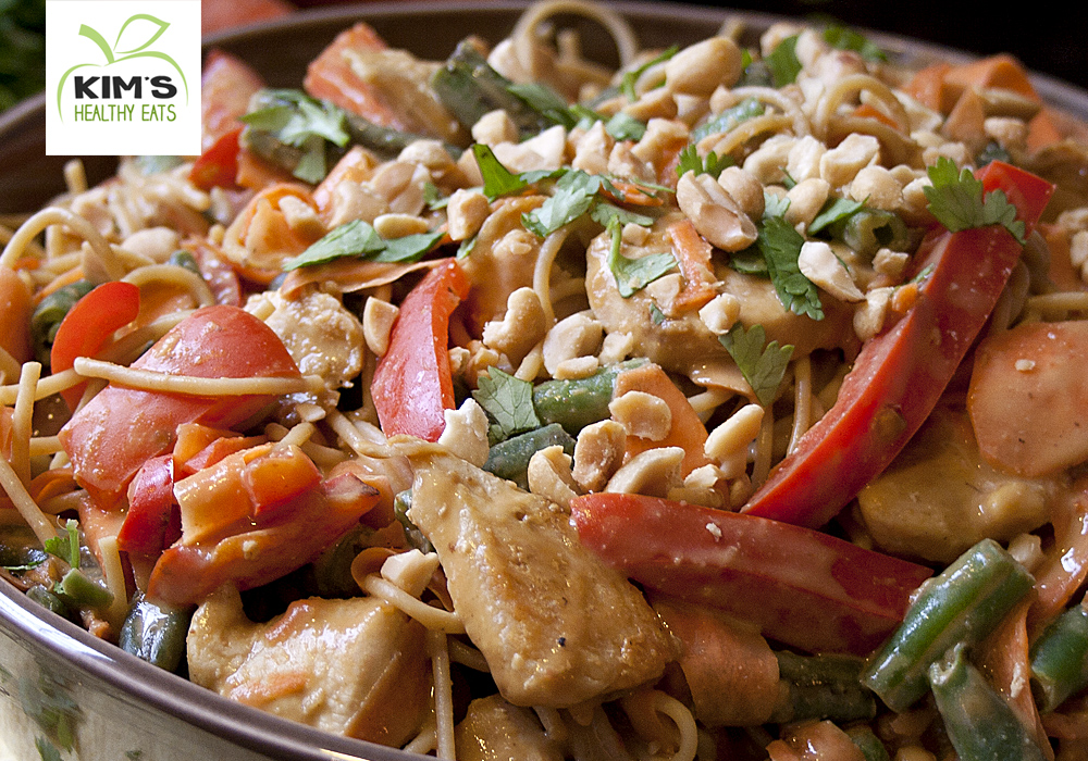 peanut chicken pasta 02
