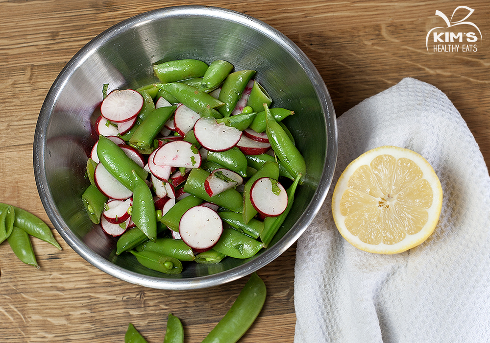 Sugar Snap Pea Salad | Kim's Healthy Eats