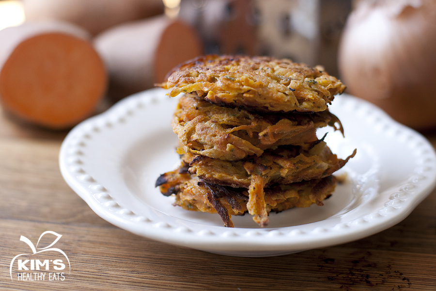 Sweet Potato Cakes | Kim's Healthy Eats