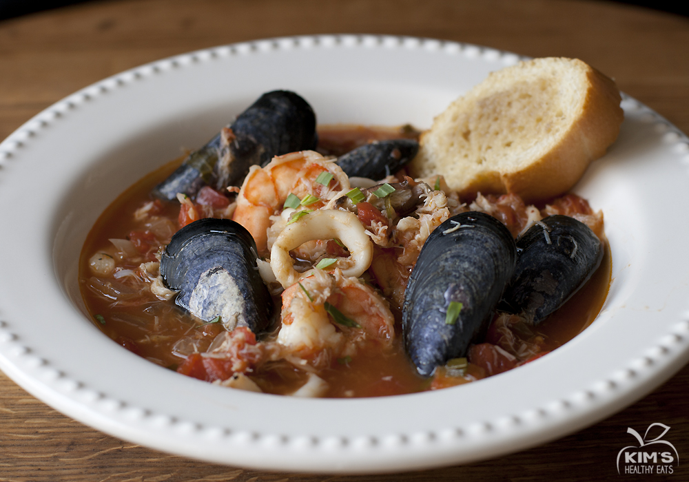 Cioppino (Seafood Stew) | Kim's Healthy Eats