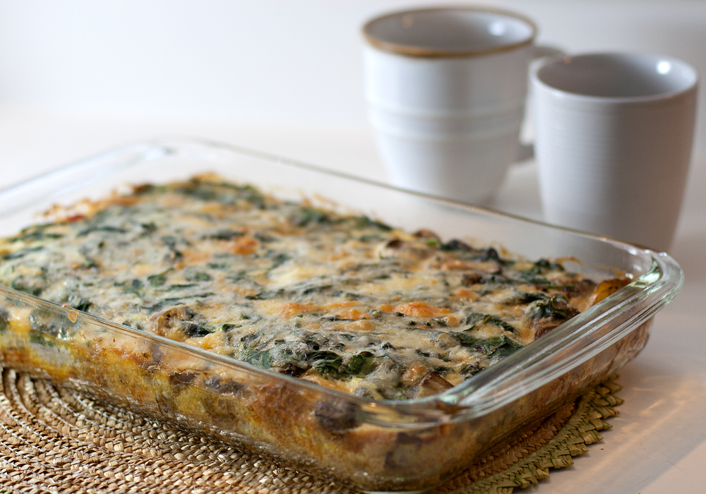 lovers I had lots to choose from when making this veggie egg casserole ...