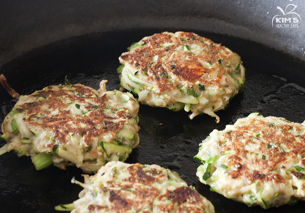 Zucchini Fritters | Kim's Healthy Eats