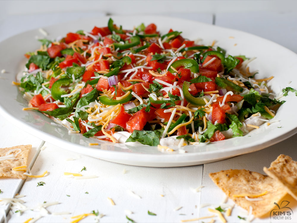 Photo Of Seven Layer Taco Dip Superbowl Pictures to pin on Pinterest