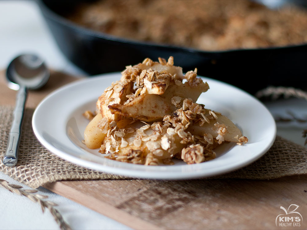 Pear and Apple Crisp