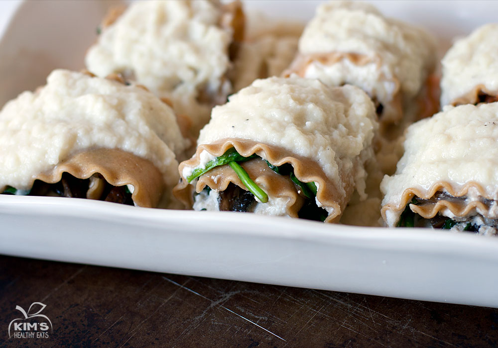 Portabello Mushrooms With Creamy Spinach-Artichoke Filling Recipes ...