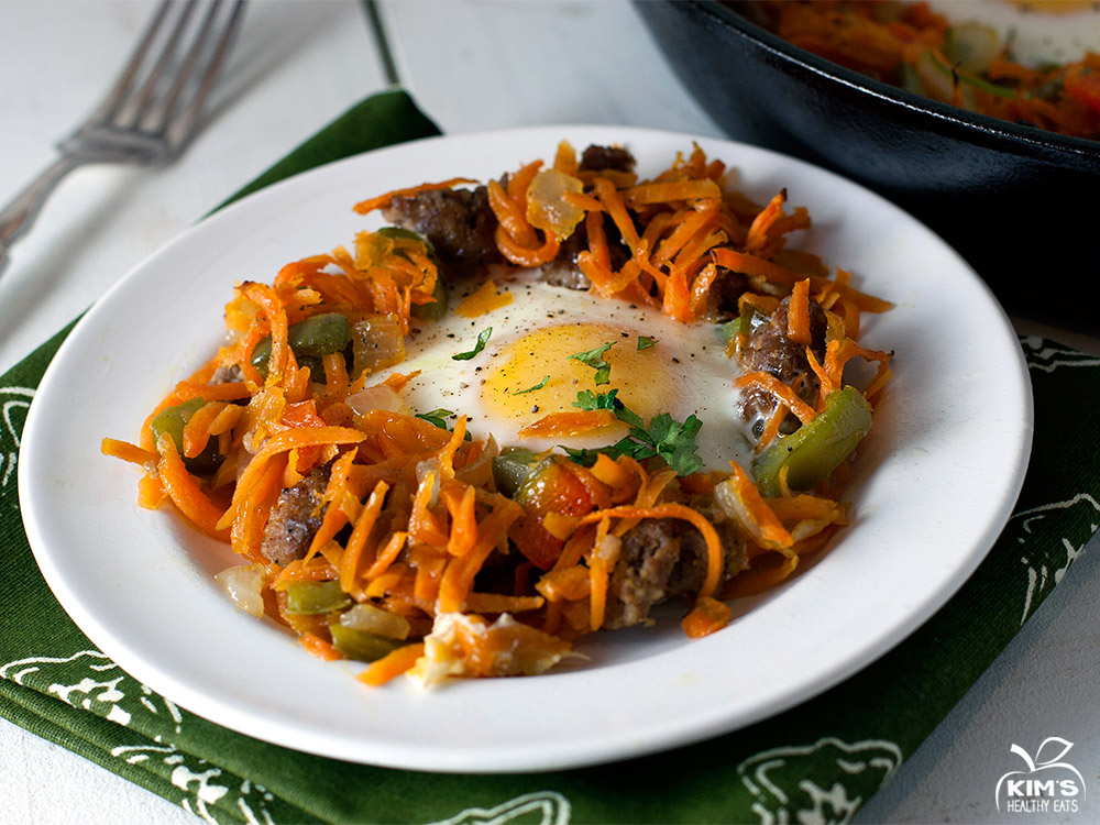 One Skillet Sweet Potato Hash