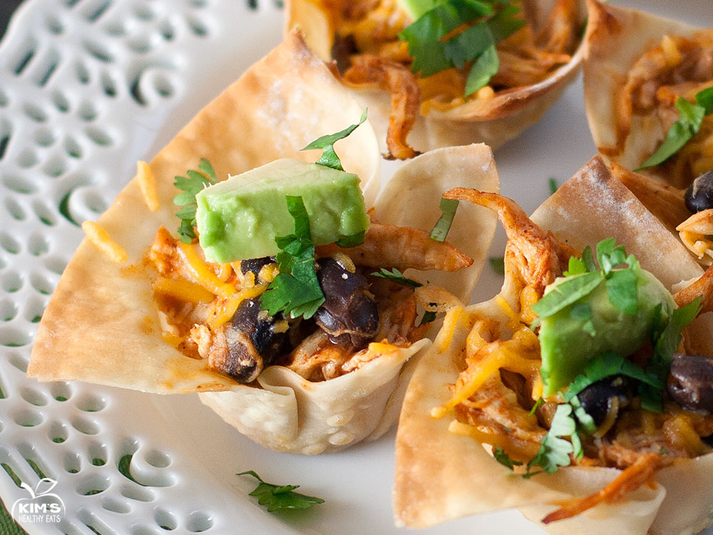 Black Bean Chicken Enchilada Cups