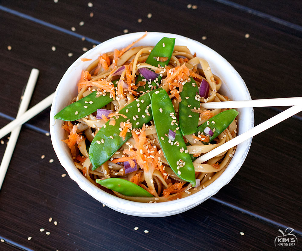Asian Sesame Pasta Salad