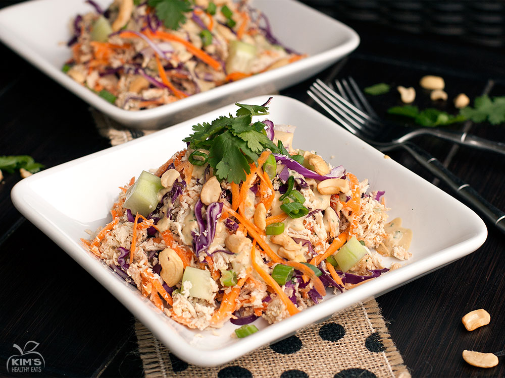Thai Cashew Chicken Salad