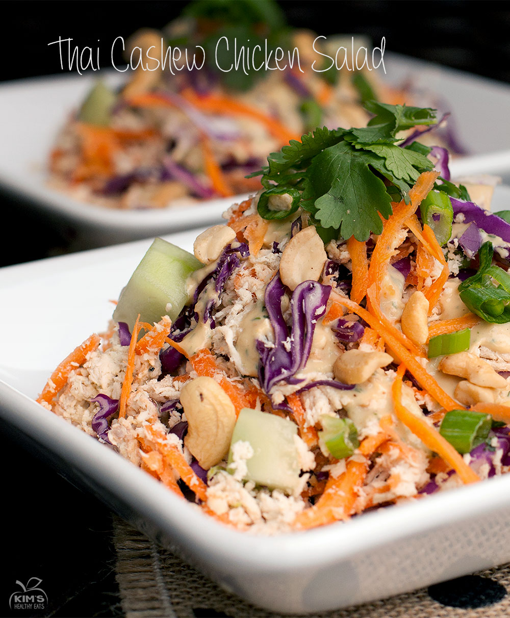 Thai Cashew Chicken SaladThai Cashew Chicken Salad