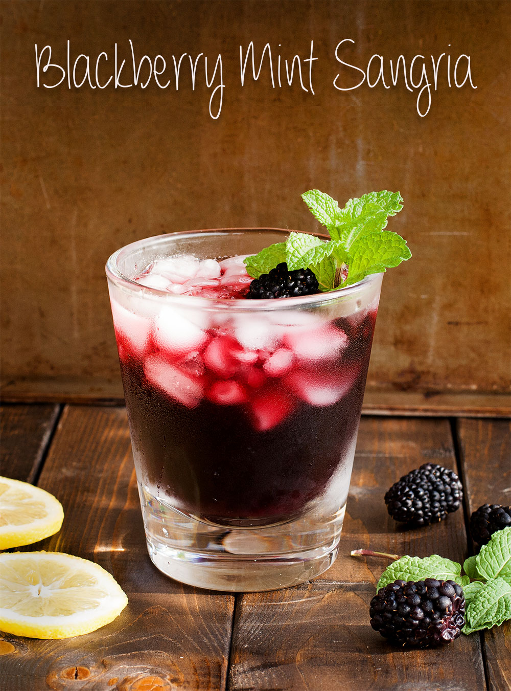 Blackberry Mint Sangria