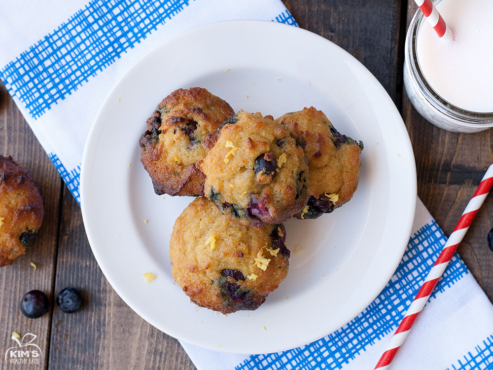 Gluten Free Blueberry Muffins | Kim's Healthy Eats