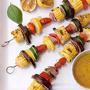 Italian grilled vegetable kabobs kims healthy eats italian grilled vegetable kabobs forumfinder Image collections