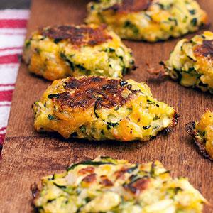 Baked Zucchini Tots | Kim's Healthy Eats