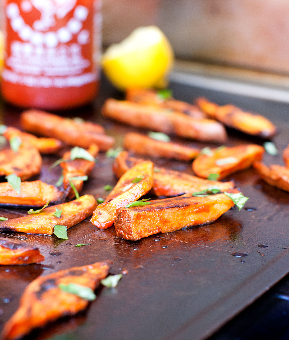 Sriracha Sweet Potato Fries